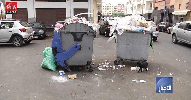 فيديو..استمرار أزمة  تدبير النظافة ومجلس المدينة يفسح المجال لطلبات عروض