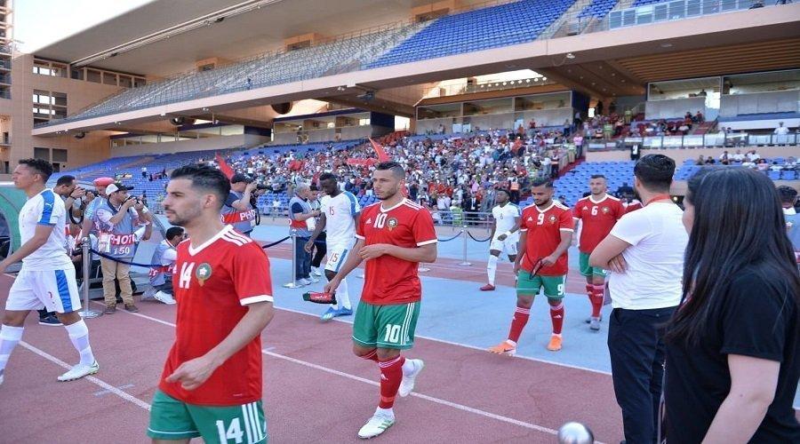 هزيمة المنتخب المغربي أمام نطيره الغامبي بمراكش