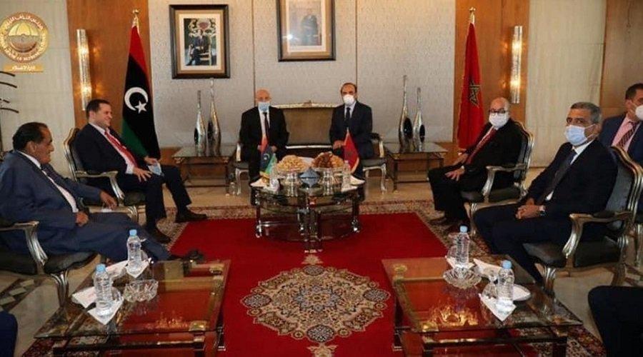 رئيس مجلس النواب الليبي يحل بالمغرب للتشاور بشأن الأزمة في بلاده