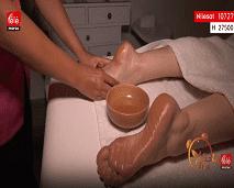 مساج الاسترخاء للتخلص من التعب وإراحة العضلات