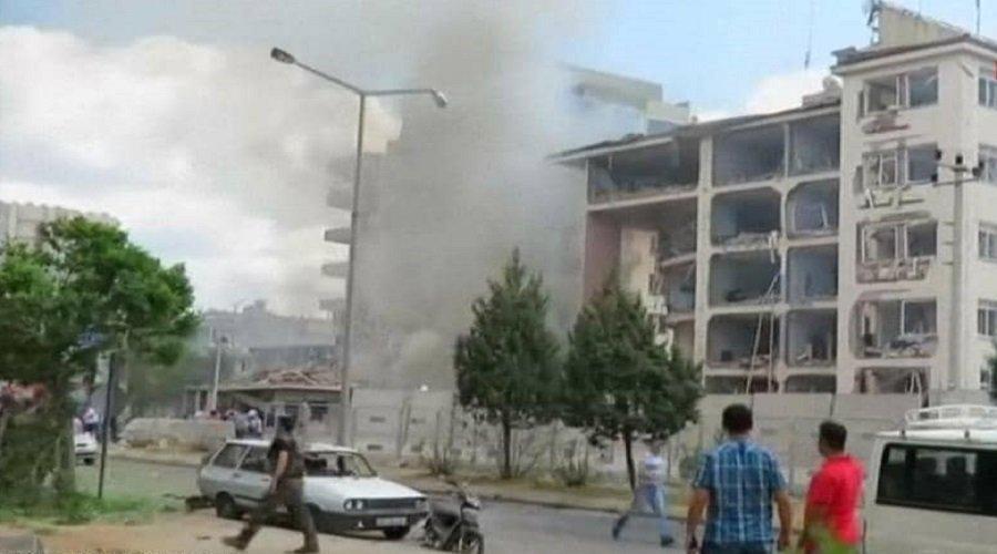 """قتلى وجرحى في انفجار جنوبي تركيا وأردوغان يتحدث عن """"عمل إرهابي"""""""