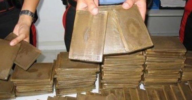 إحباط عملية لتهريب 653 كلغ من مخدر الحشيش بالكركارات