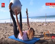رياضة اليوم: حركات رياضية لشد عضلات البطن باستخدام الكرة السويسرية