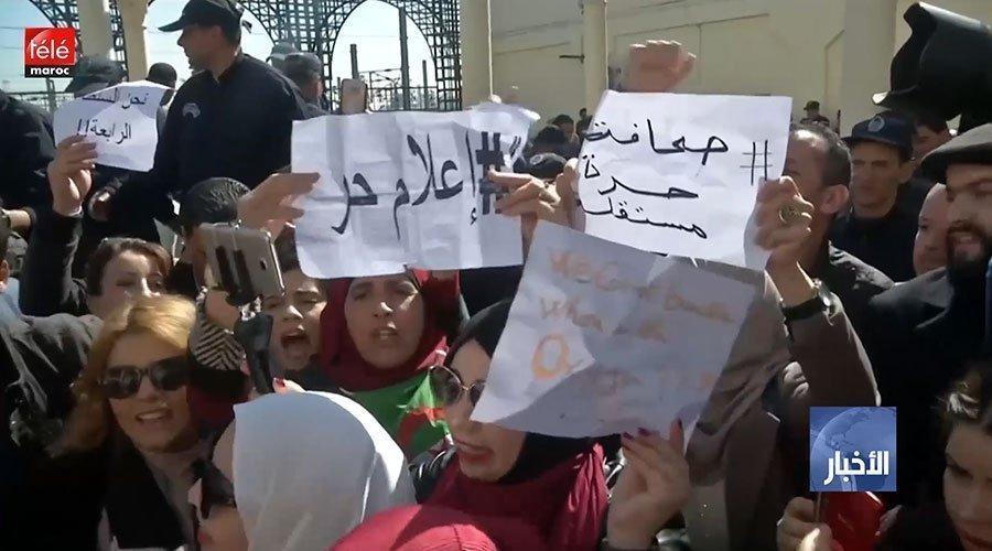 الجزائر ..إطلاق سراح صحافيين بعد ساعات من توقيفهم ومنظمة العفو الدولية تدعو السلطات إلى ضبط النفس