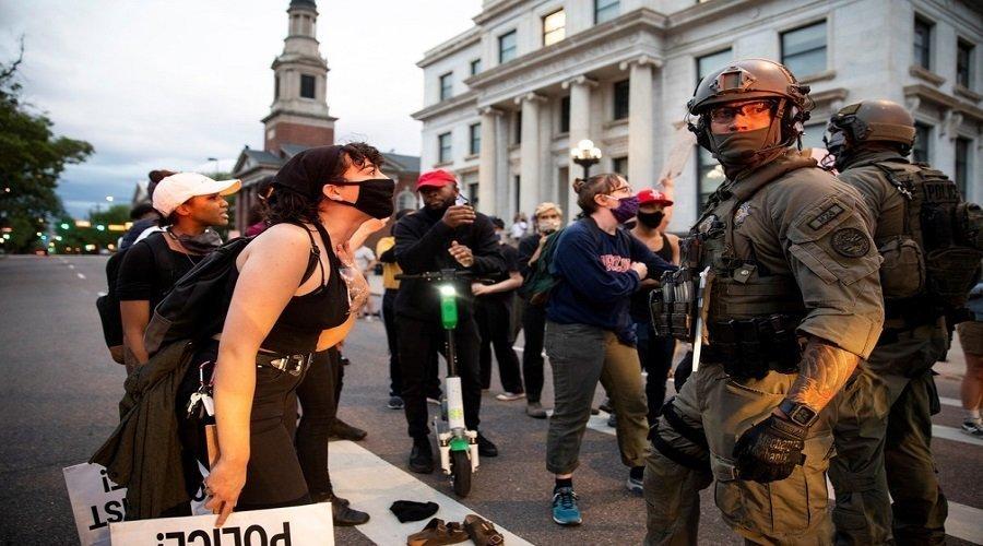 احتجاجات أمريكا تتسبب بتفشي كورونا في صفوف الحرس الوطني