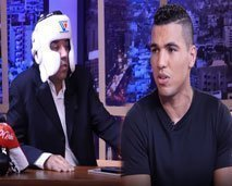 الملاكم محمد الربيعي يحذر العشابي في عندي مايفيد ويطلق النار على التغماوي