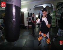 مجهودات البطل طارق في نشر رياضة الملاكمة