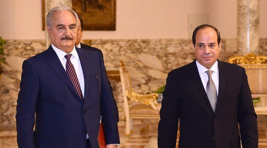 برلمان شرق ليبيا المؤيد لحفتر يجيز لمصر التدخل عسكريا