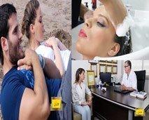 عالمك : العلاج بالاشعة، تمارين شد عضلات البطن، الشعير وتقوية المناعة، وعلاج للتخلص من تقصف الشعر