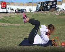 حركات سهلة للحصول على جسم رشيق ومشدود مع الكوتش كلثوم أضمير