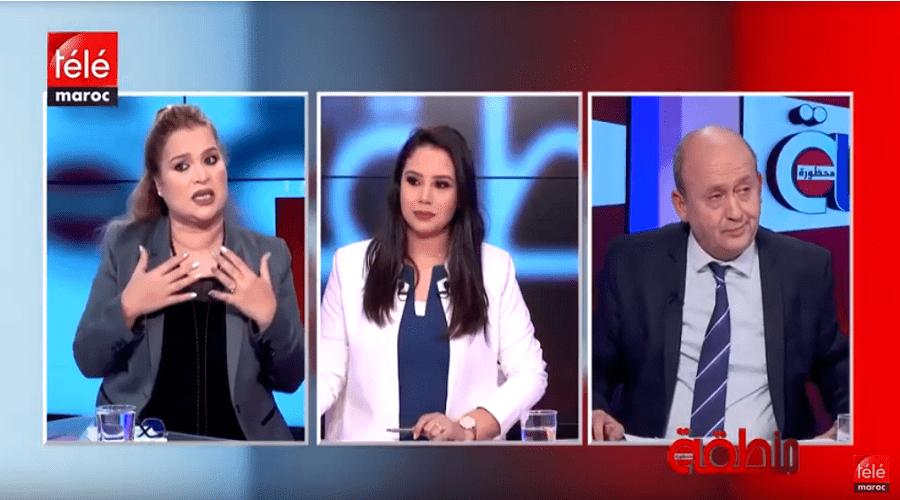 نقاش حاد في بلاطو منطقة محظورة بين خالد فتحي ونجية أديب حول موضوع زوجة الأب