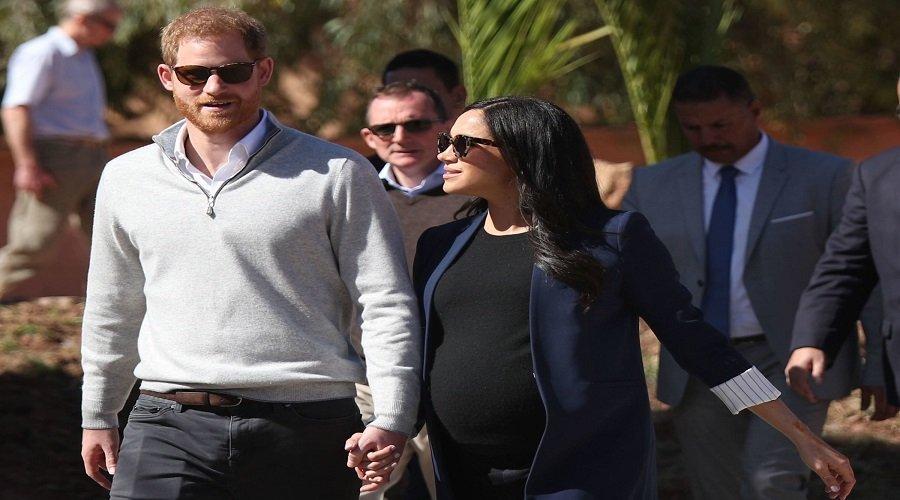 الأمير هاري وميغان ماركل يرزقان بمولودهما الأول