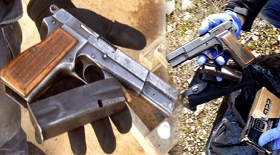 مسدس بجانب القمامة يستنفر درك الصخيرات