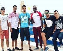 أعضاء المجموعة الموسيقية هيوايغا ضيوف صباحكم مبروك
