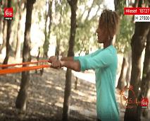 رياضة اليوم: تمارين رياضية باستخدام الحبل المطاطي