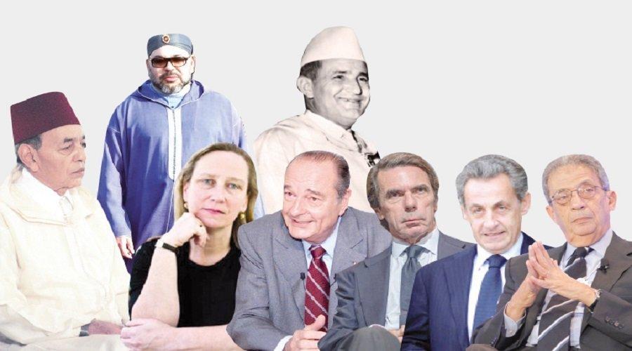 قادة عرب وأجانب يكشفون أسرار علاقاتهم مع ملوك المغرب