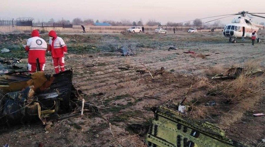 مصرع 170 شخصا في تحطم طائرة أوكرانية فوق إيران