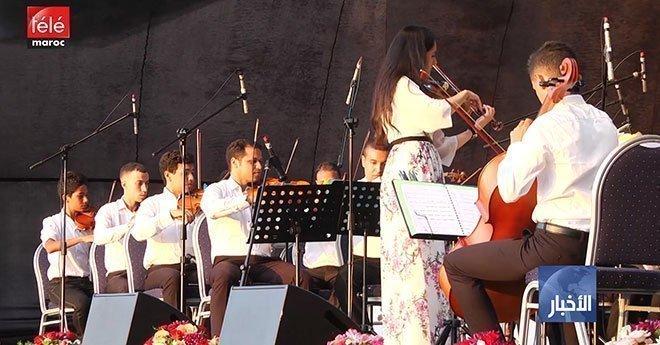 فيديو..فرقة مونية رزق الله تتحف الجمهور بمقاطع مذهلة على الكمان