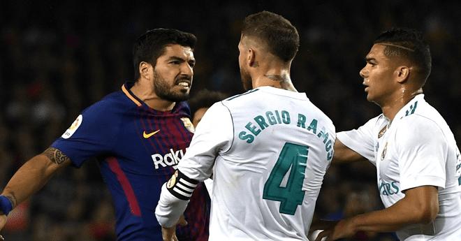 التشكيلة الرسمية: برشلونة - ريال مدريد