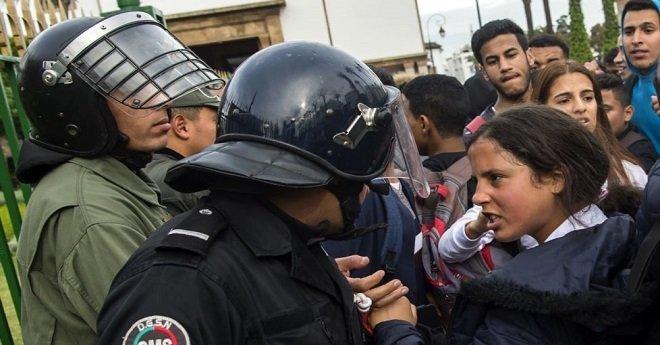 دلائل على استغلال احتجاجات التلاميذ سياسيا