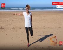 حركات تمديدية لأسفل الجسم - مع كلثوم اضمير