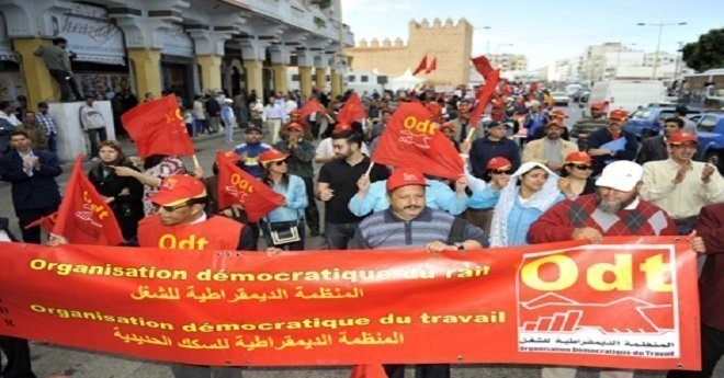 المنظمة الديمقراطية للشغل تهاجم حكومة العثماني وتعلن عن مسيرة وطنية