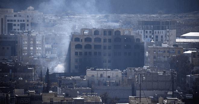 ميليشيات الحوثي تفجر منزل عبد الله صالح في صنعاء