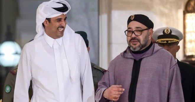 فيديو..الملك يجري اتصالا هاتفيا بالشيخ تميم بن حمد آل ثاني أمير دولة قطر
