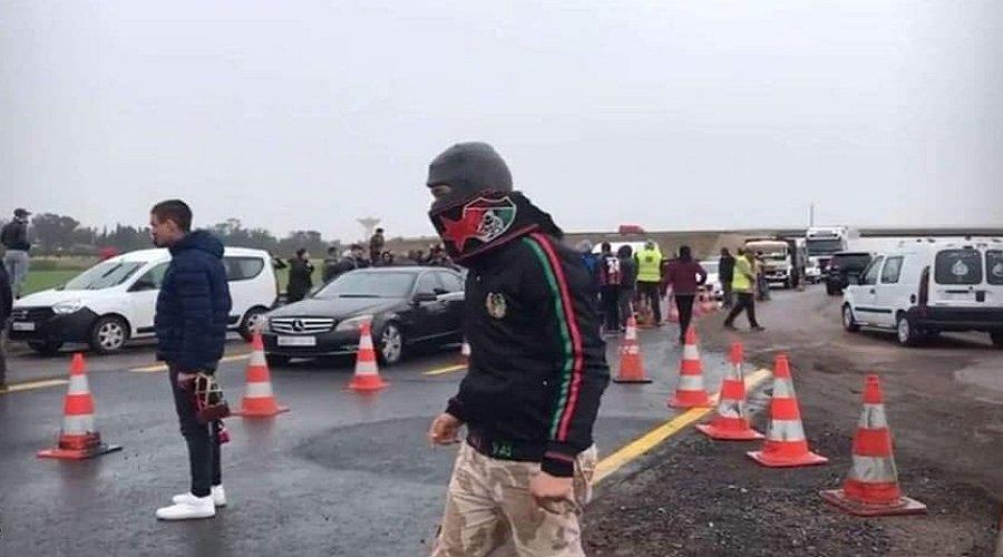 حرب في الطريق السيار لمراكش بين أنصار الجيش والرجاء
