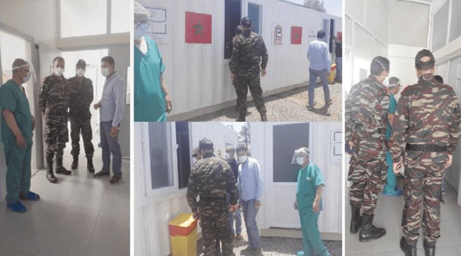 مستشفى عسكري يتكلف بتحاليل الكشف عن كورونا بإنزكان