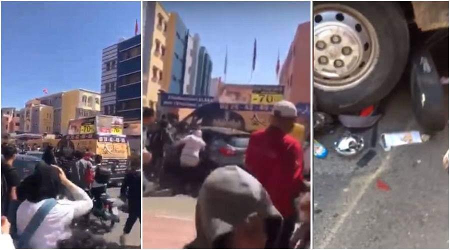 بالفيديو.. سيارة تدهس تلاميذ أمام مدرسة بمراكش