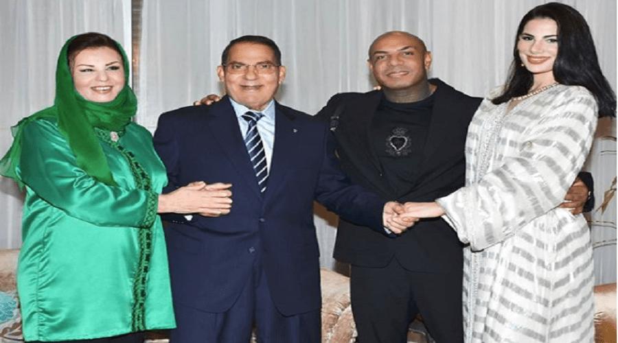 ابنة الرئيس التونسي السابق بن علي تعلن زواجها من مغني راب