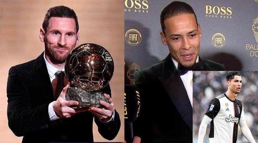 ميسي أحسن لاعب في العالم وفان ديك يسخر من رونادو