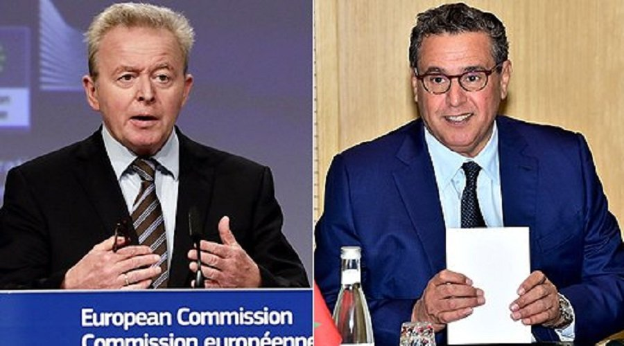 الاتفاقية الفلاحية بين المغرب والاتحاد الأوروبي محور لقاء بين أخنوش وفويسيشوفسكي