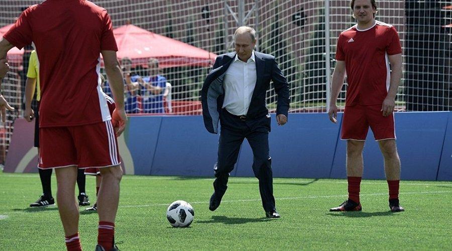 بوتن : أهداف سياسية وراء استبعاد روسيا من البطولات الرياضية