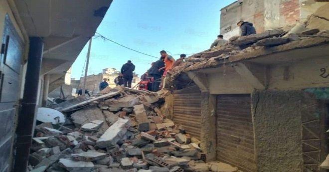 كارثة جديدة بالدار البيضاء.. انهيار منزل بالمدينة القديمة