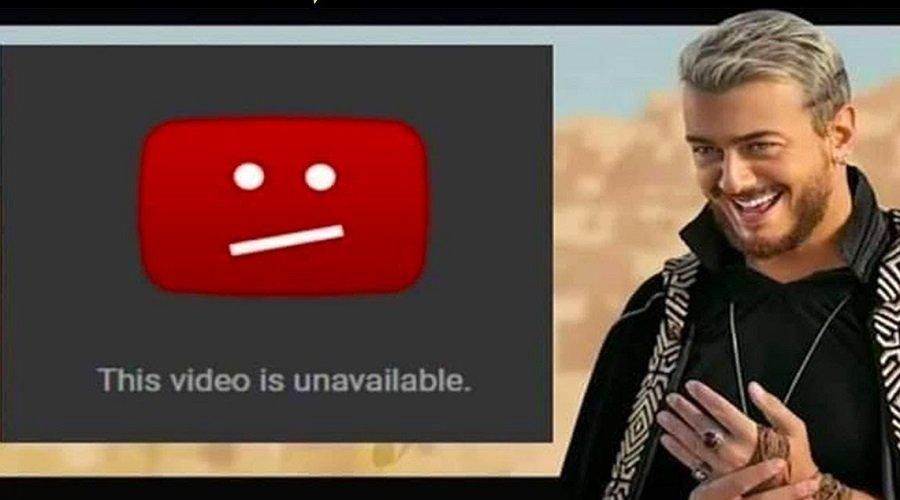 بعد سلام.. يوتيوب يحذف أنجح أغنيات المجرد