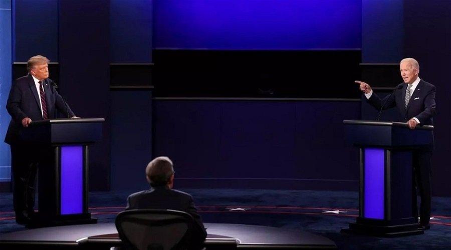 تلاسن عنيف وإهانات شخصية في أول مناظرة بين بايدن وترامب