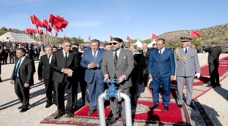 الملك يدشن سد مولاي عبد الرحمان بالصويرة الذي سيوفر المياه لربع مليون شخص