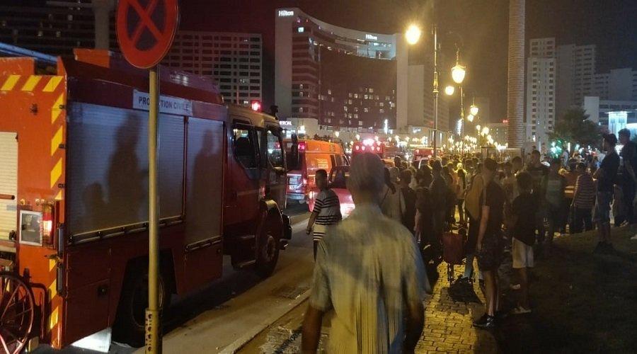 إصابة 20 شخصا إثر سقوط أرجوحة للألعاب بطنجة