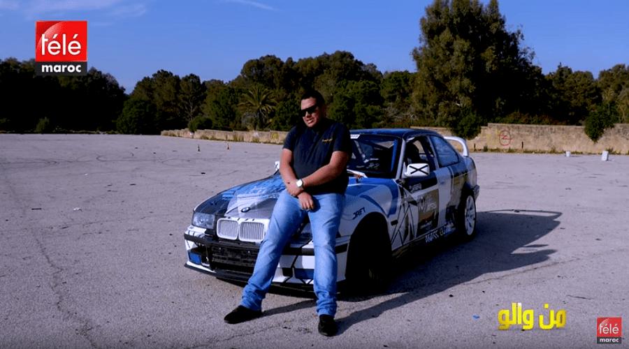 من والو : قصة شاب بدا من والو ليصبح بطلا في رياضة انجراف السيارات