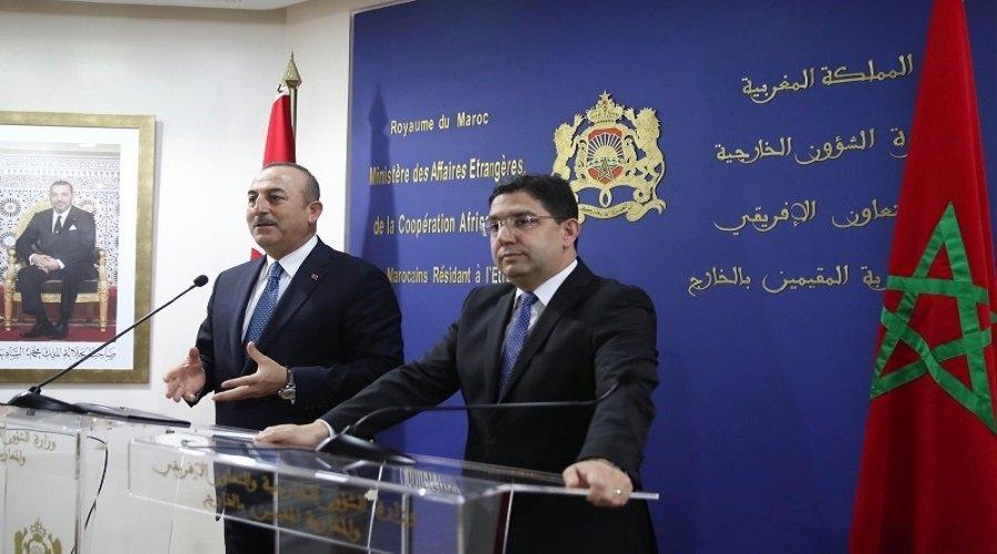 هكذا رد أوغلو على عزم المغرب مراجعة الاتفاق التجاري مع تركيا