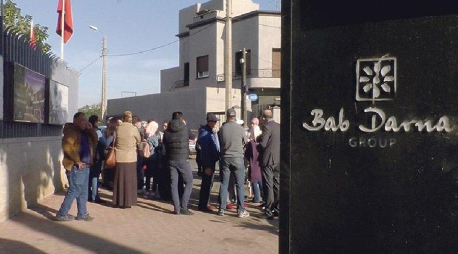 """ضحايا مشروع """"باب دارنا"""" يعودون للاحتجاج"""