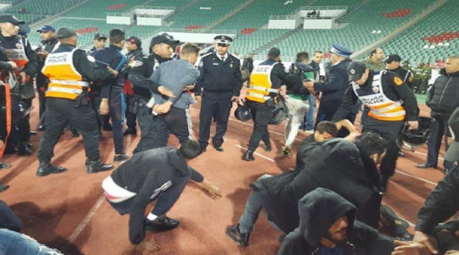 اعتقالات وإصابات في صفوف رجال الأمن خلال شغب الكلاسيكو
