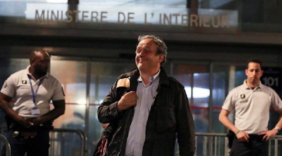 إطلاق سراح بلاتيني بعد ساعات من الاستجواب في فرنسا