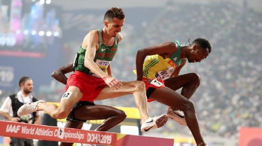 البقالي يكتفي بالبرونزية في بطولة العالم لألعاب القوى بقطر
