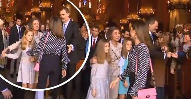 شاهد توتر بين ملكة إسبانيا وحماتها بعيد الفصح.. والملك يتدخل