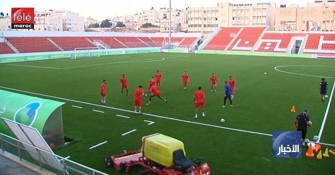 المنتخب العراقي يصل إلى رام الله من أجل خوض لقائه ضد المنتخب الفلسطيني