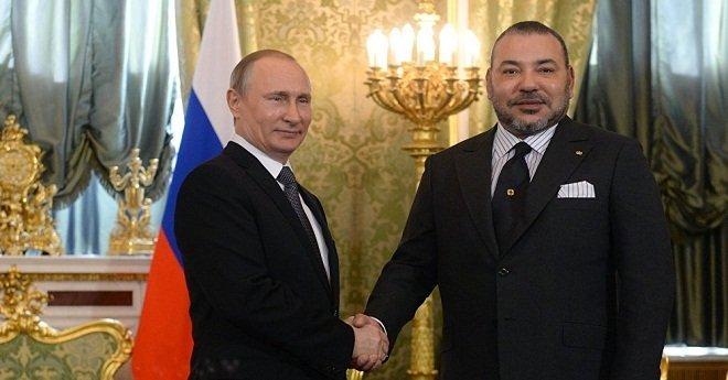 الملك يعزي بوتن في تحطم طائرة ركاب روسية