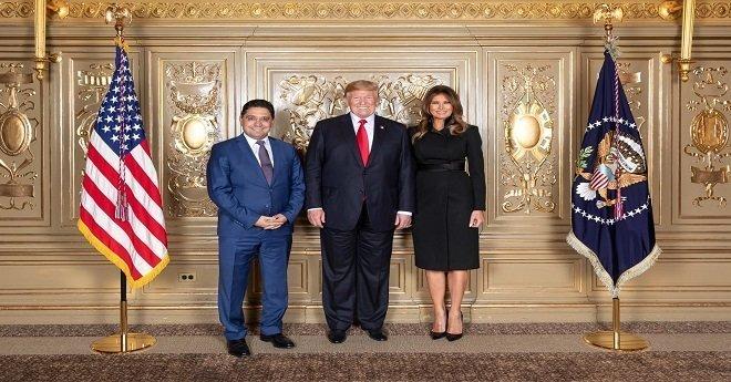 بوريطة يلتقي الرئيس الأمريكي ترامب ووزير الخارجة الروسي (صور)